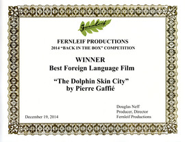 DAUPHINS_2014 Certificate - Best Foreign