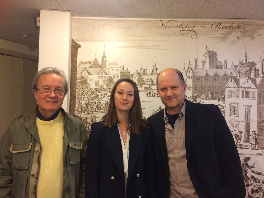 Aimé Agnel, Astrid Gélot and Pierre Gaffié, 11:04/2017, Paris