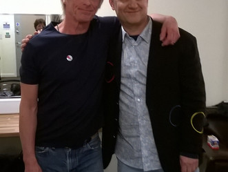 Meeting Paul WELLER in Cardiff
