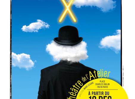 """Mathilda MAY crée """"Monsieur X"""" : les gouaches de la vie..."""
