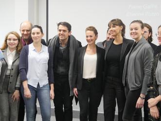 Mathilda MAY invitée d'une master class à l'ICART Paris