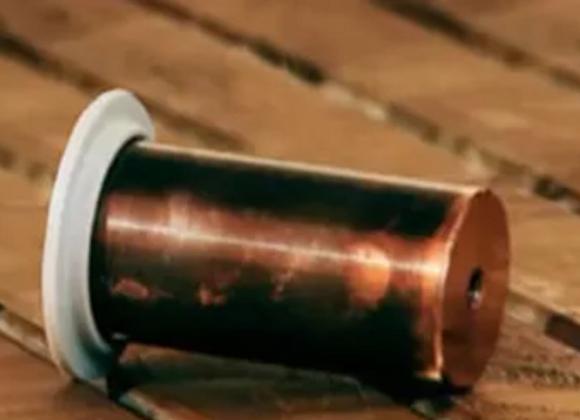 Electrodo central de cobre