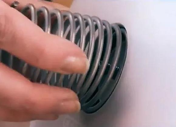 Electrodo exterior de acero