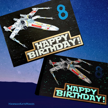 X-wing Birthday Card