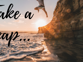 Taking A Leap….