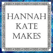 Hannah Kate Makes Logo Blue Outline
