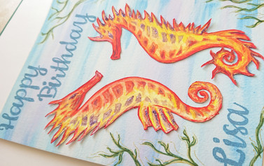 Birthday Seahorses