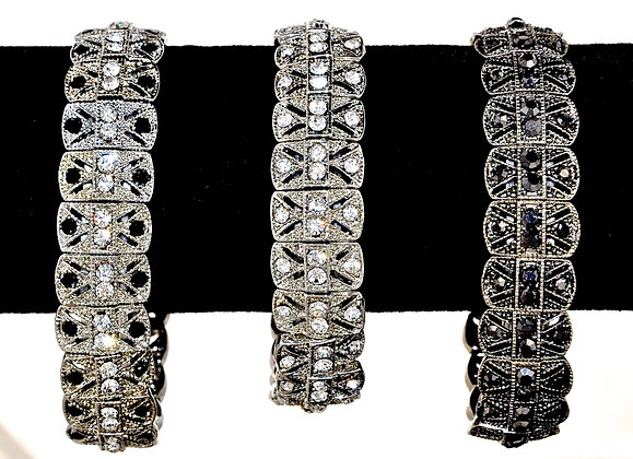 Classic Crystal Bracelet (vintage style)