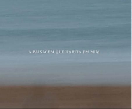 A paisagem que habita em mim - Marisa de Sá