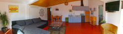Vista panoramica interior T1 verde