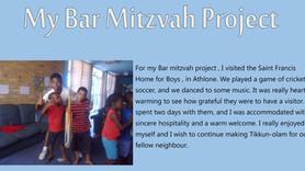 Josh Jantjies - Mitzvah Project