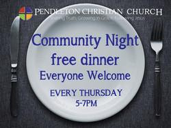 PCC Community Dinner