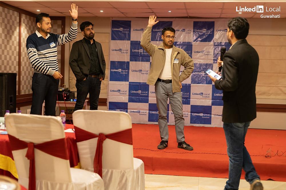 VantageCircle employee Soumyadeep VoxPop founder Anup Singh
