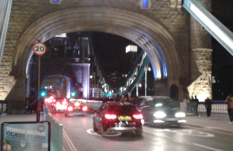 Tower Bridge, Christmas Day Eve