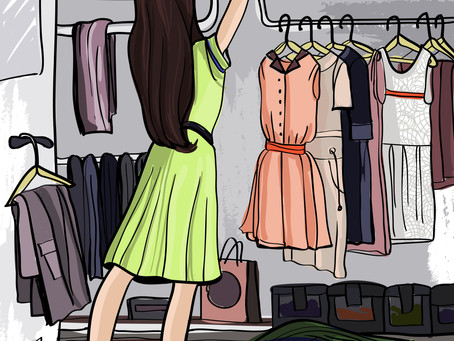 Is Sassy Heroine Ready to Share a Closet?