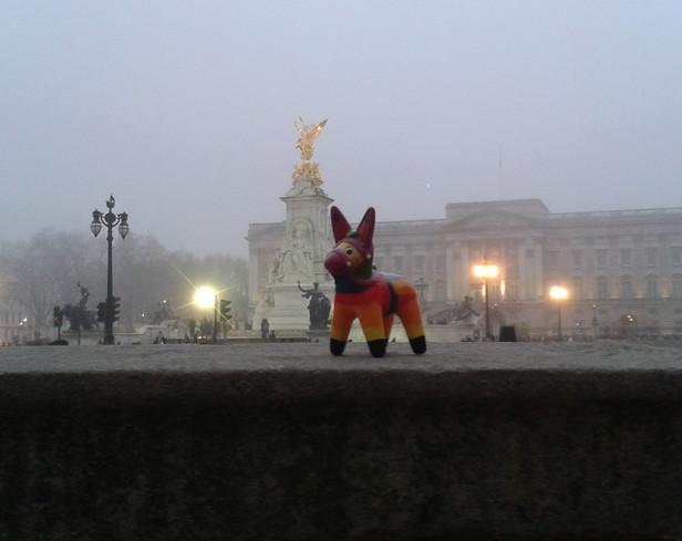 Diego and Buckingham Palace