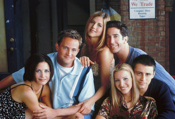 F.R.I.E.N.D.S in Real!