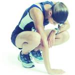 Fatigue 1 - 2 miles into your run -          LOW FERRITIN