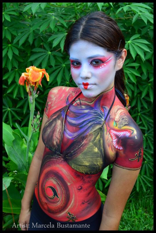 Oriental Body Painting