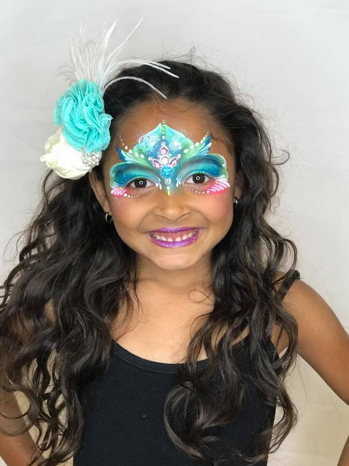 Face Painting for little girl