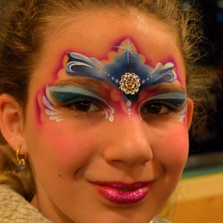 Amazing Waterproof face painting Orlando - St Cloud -  Kissimmee be Marcela Bustamante Blazin Brush