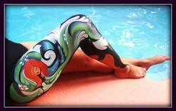 Body painting Orlando