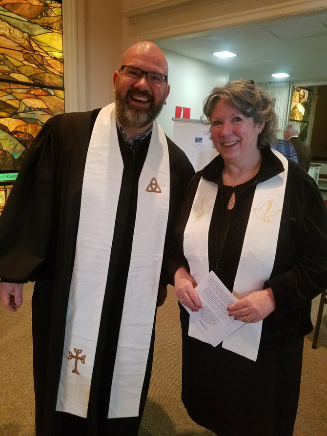 We welcome Rev. Maureen Ausbrook in her new role at the church as Minister of Visitation