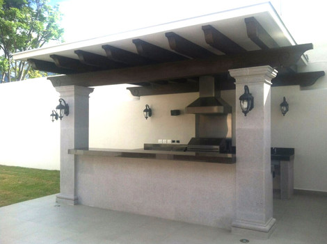 Convierte tu jard n en una terraza con cocina exterior for Cocinas en terrazas