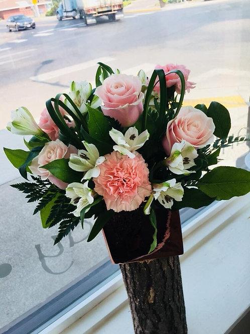 Blushing Blooms