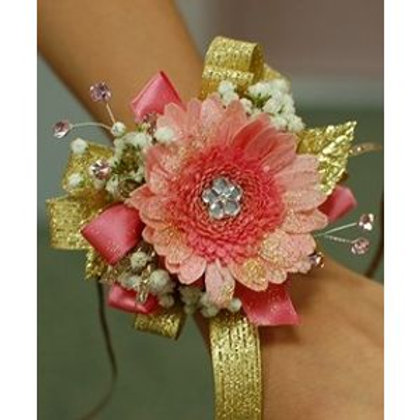 Corsage Only: Gold