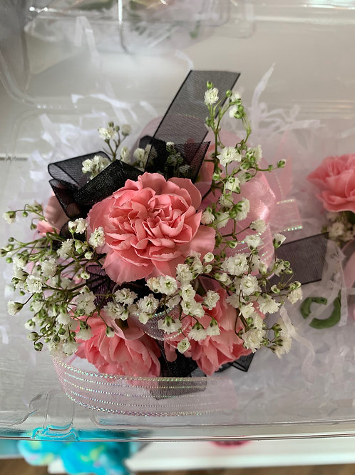 Corsage Only: Mini Carnations