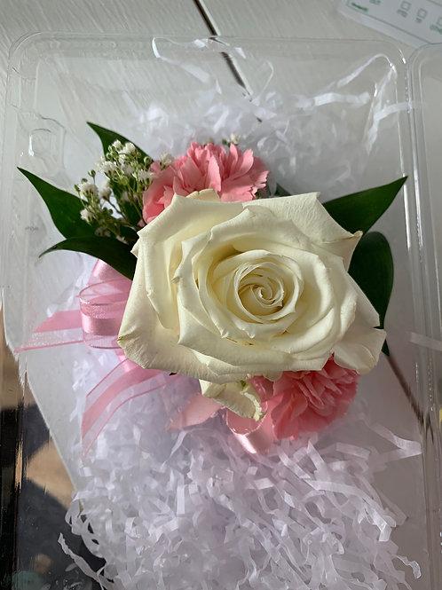 Corsage set: Rose & Carnation Duo