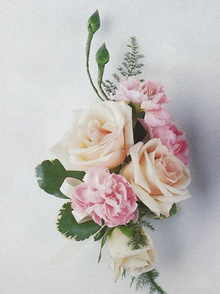 Corsage Only: Rose & Carnatian