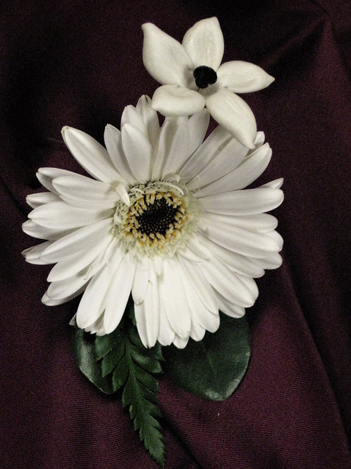 Boutonniere Only:  Gold