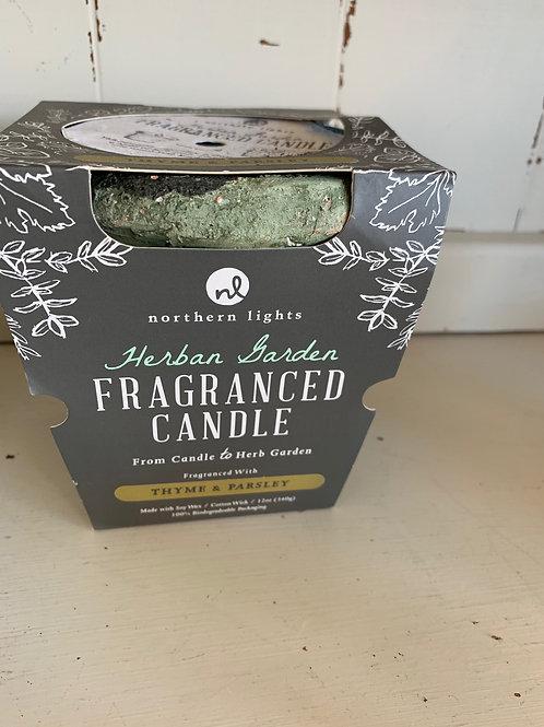 Herb Garden Fragranced Candle