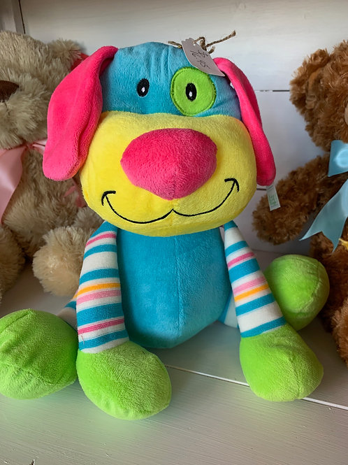 Colorful Dog Plush