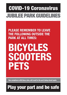 Covid-19 Jubilee Park allowed and not al