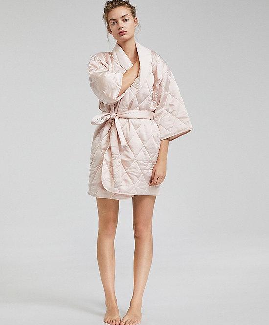 Light Pink Kimono Robe