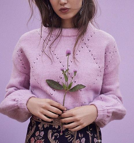 Pink short sweater