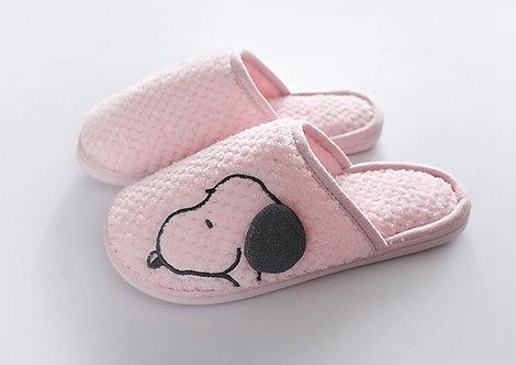 Snoppy Pink Slipper