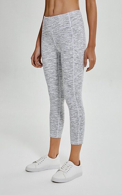 Diana Zipper 3/4 Leggings  4 Color
