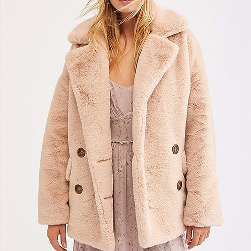 Milky winter jacket