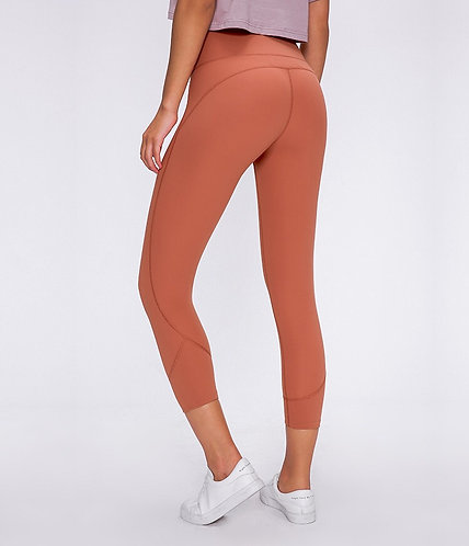 Lynx High Waist Mesh Leggins 3/4 5 Color