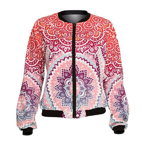 Aztec round ombre jacket