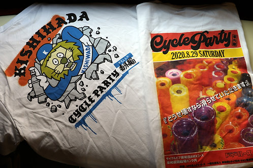 """CYCLE PARTY """"番外編"""" Tee"""