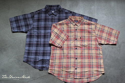 """ROLL UP CHECK SS SHIRTS""  THE UNION / THE FABRIC"