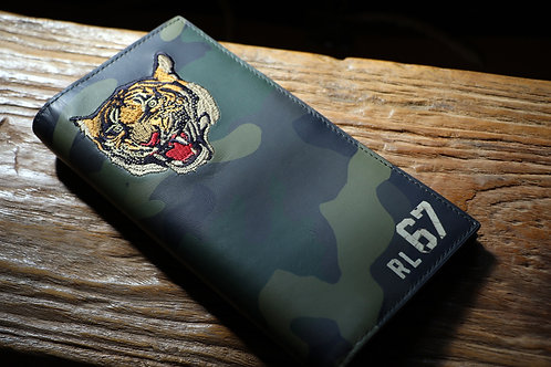 "Ralph Lauren / POLO ""Tiger Camo Lether Wallet"""