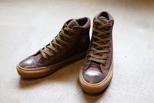 "CONVERSE USA ""LEATHER ALL STAR HI"""