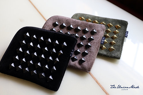 """""""STUDS HARF WALLET""""  THE UNION / THE COLOR"""