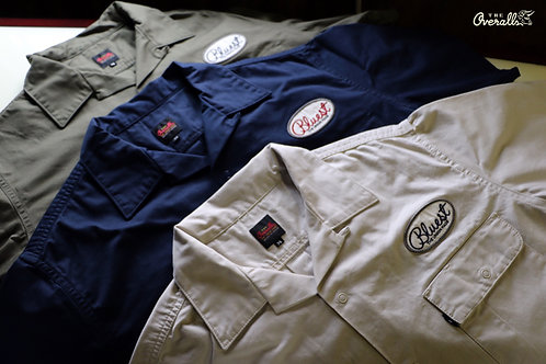 """BLUEST WORK S/S SHIRTS"" THE UNION / THE OVERALLS"